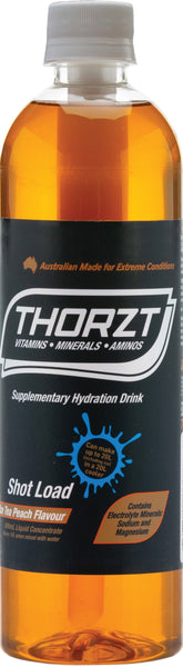 THORZT LIQUID CONCENTRATE ICED TEA PEACH 600ML BOTTLE - Thorzt Hydration - Best Buy Trade Supplies Direct to Trade