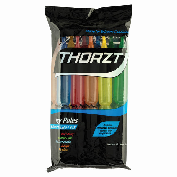THORZT ICY POLE MIXED PACK 10 x 90ml - Thorzt Hydration - Best Buy Trade Supplies Direct to Trade