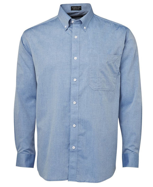 JB's Fine Chambray Shirt Long Sleeve - Workwear - Shirts & Jumpers - Best Buy Trade Supplies Direct to Trade