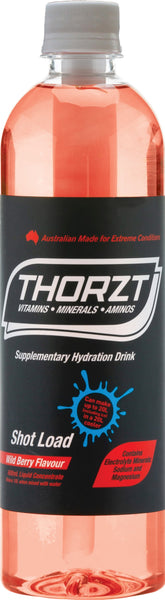 THORZT LIQUID CONCENTRATE WILDBERRY 600ML BOTTLE - Thorzt Hydration - Best Buy Trade Supplies Direct to Trade