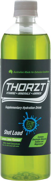 THORZT LIQUID CONCENTRATE LEMON LIME 600ML BOTTLE - Thorzt Hydration - Best Buy Trade Supplies Direct to Trade