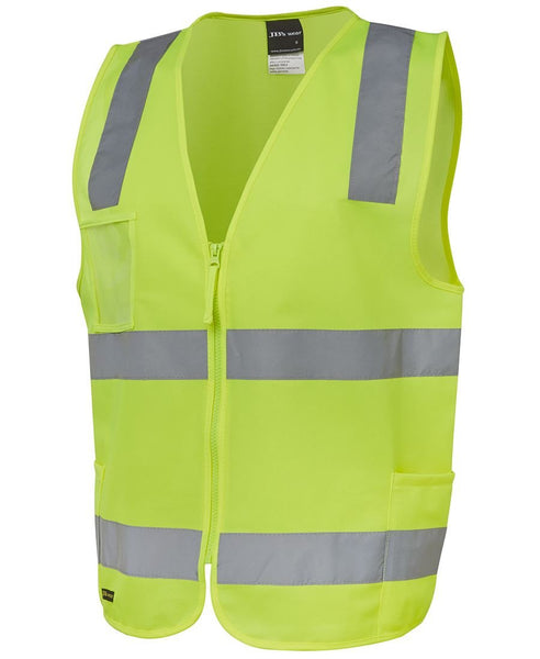 JB's Hi Vis (D+N) Zip Safety Vest - Hi Vis Clothing - Best Buy Trade Supplies Direct to Trade