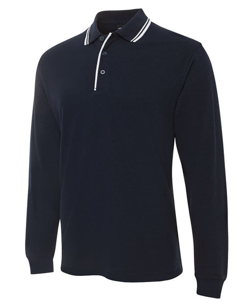 JB'S Contrast Polo Long Sleeve - Workwear - Shirts & Jumpers - Best Buy Trade Supplies Direct to Trade