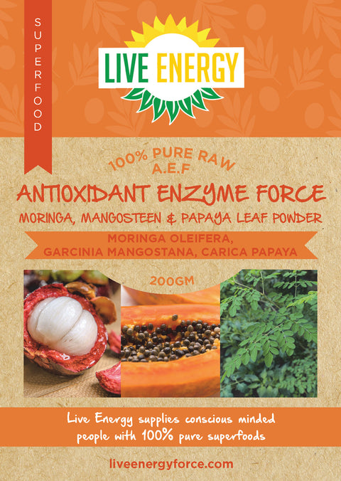 Antioxidant Enzyme Force  A.E.F, 200gm powder