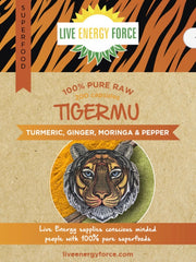 Tigermu capsules, Tumeric, Ginger, moringa and pepper