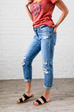 Collateral Damage Boyfriend Jeans - In house