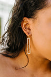 Dangling Delight Earrings In Gold