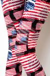 Vintage American Flag Leggings