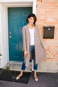 Extreme Lengths Button Down Cardi