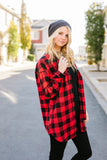 Laid Back Plaid Button-Down