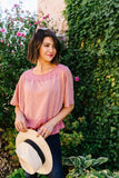 Yasmine Dolman Sleeved Top