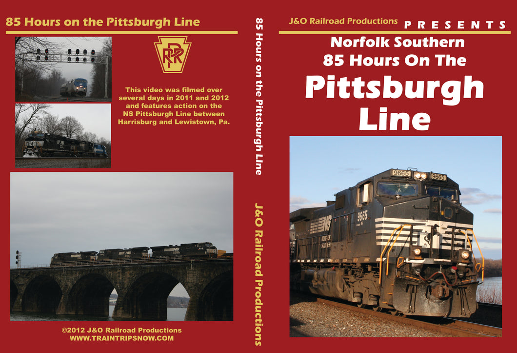 85 Hours on the Pittsburgh Line DVD