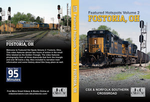 Featured Hot Spots Volume 2 Fostoria, OH Blu Ray