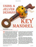 Jelveh Designs Key Mandrel Flameworking Tool