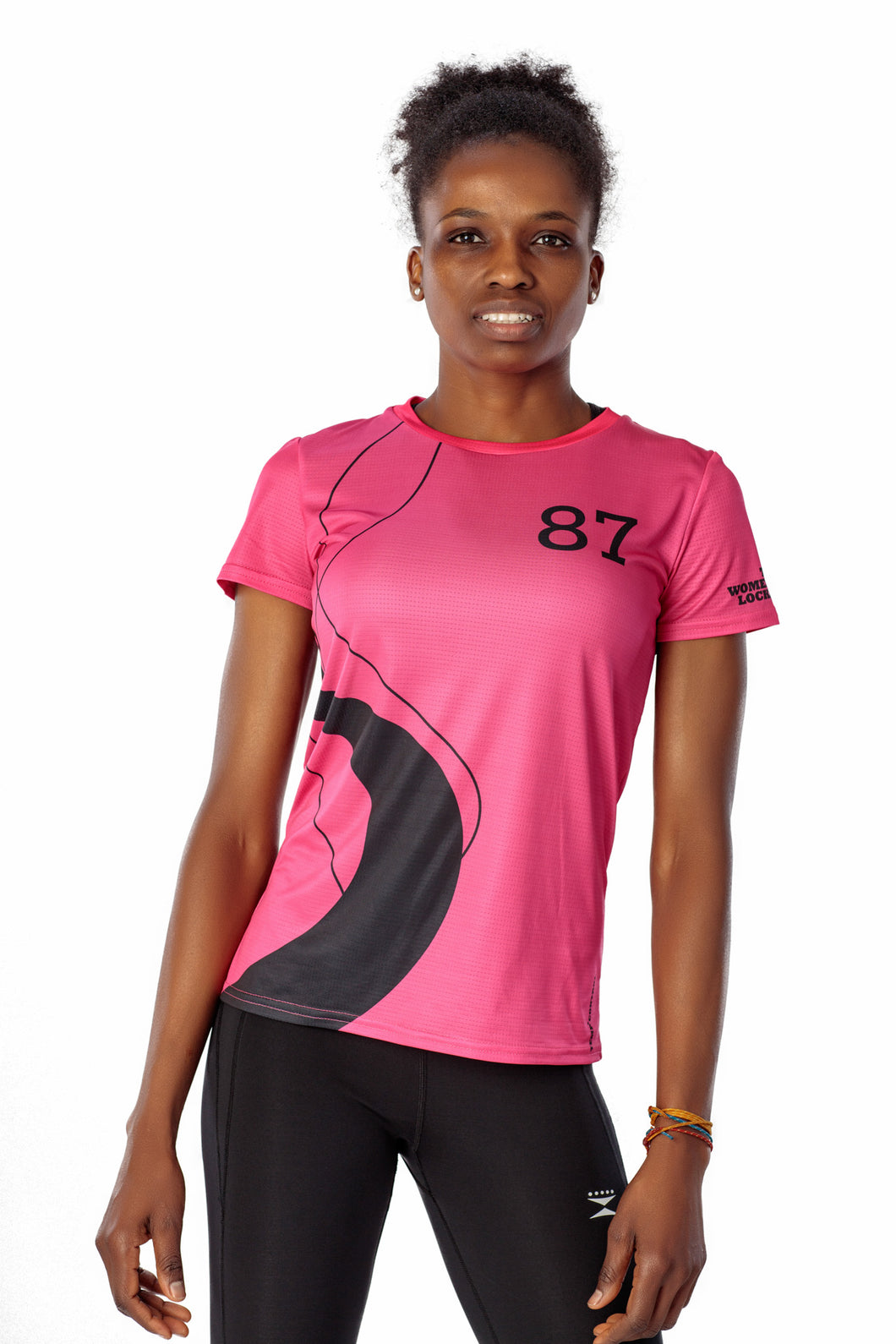 THE WOMEN'S LOCKER Track T-Shirt