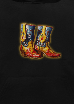 Boots Hoodie