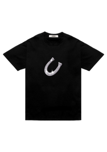 Horseshoe T-Shirt Black