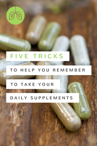 Tricks to Remember Your Daily Supplements | airloomsupplement.com