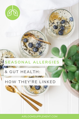 How Seasonal Allergies and Gut Health Are Linked | airloomsupplement.com