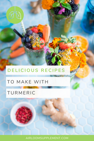 Delicious recipes to make with turmeric | airloomsupplement.com