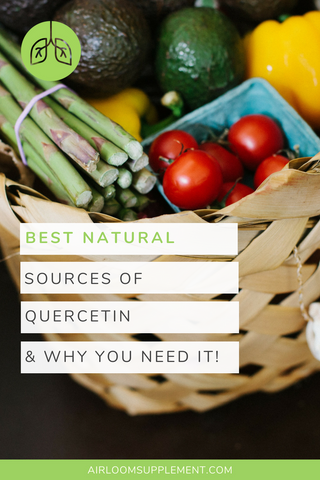 Best natural sources of quercetin | airloomsupplement.com