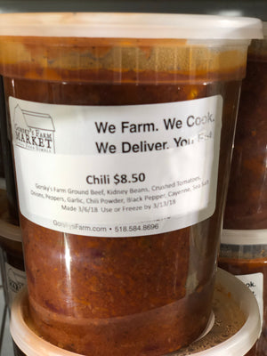 Gorsky's Farm Chili