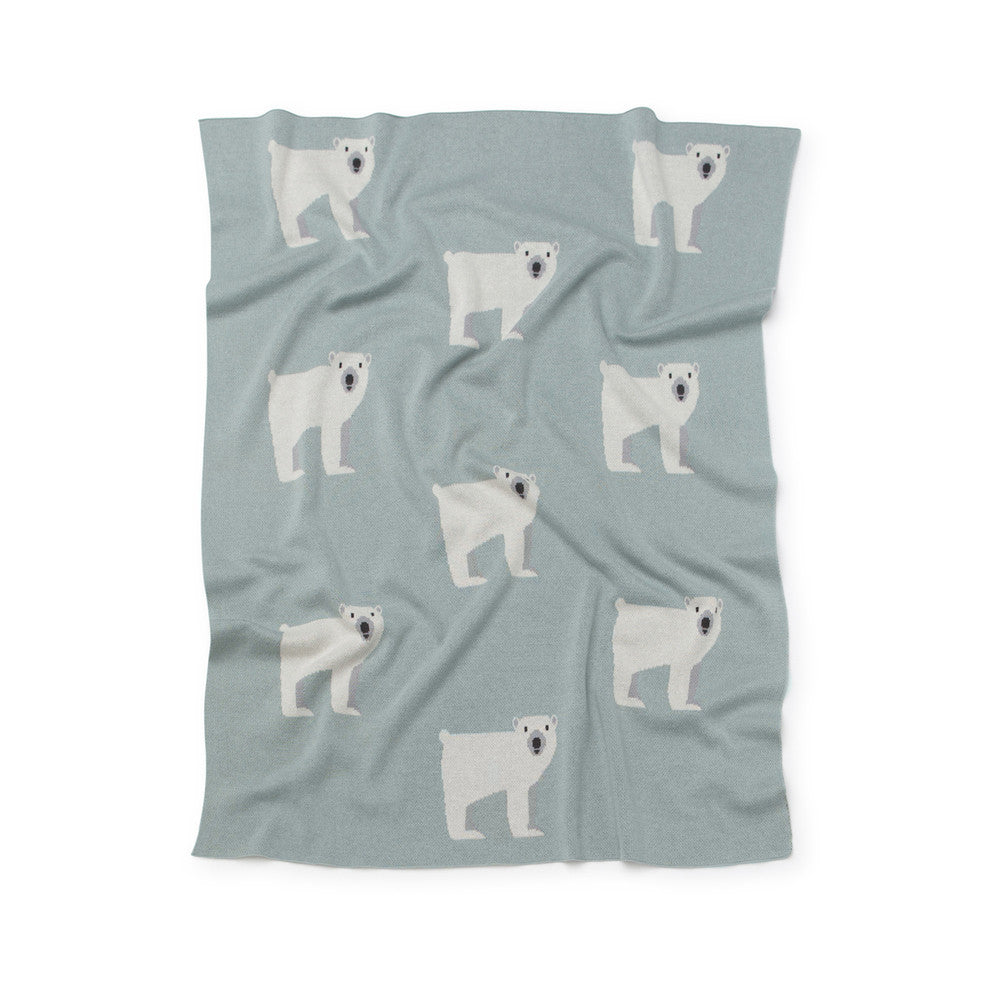 Polar Bear Baby Blanket