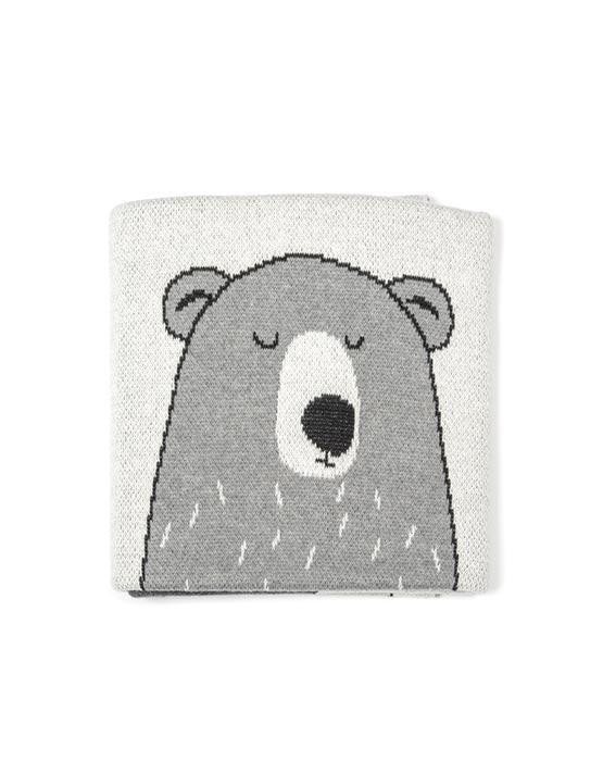 Bear Family Baby Blanket-Gift Boxed!