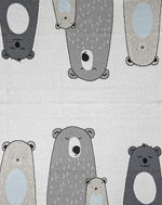 Bear Family Baby Blanket