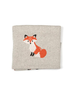 Fox Baby Blanket- Gift Boxed!