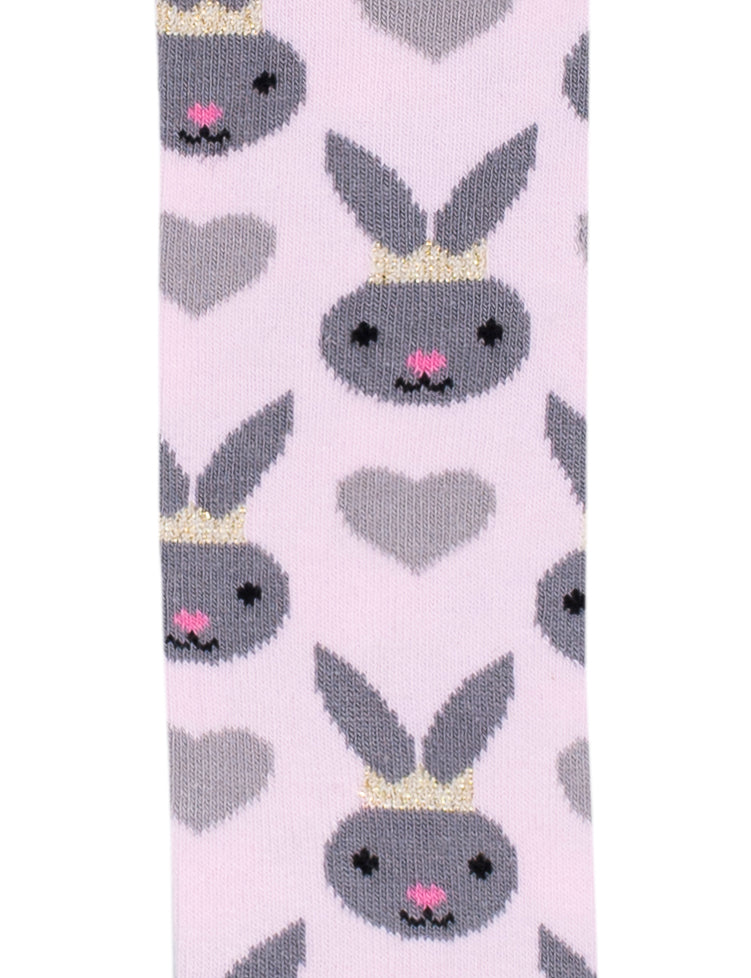 Billy Loves Audrey Harlequin Grey Bunny Tights