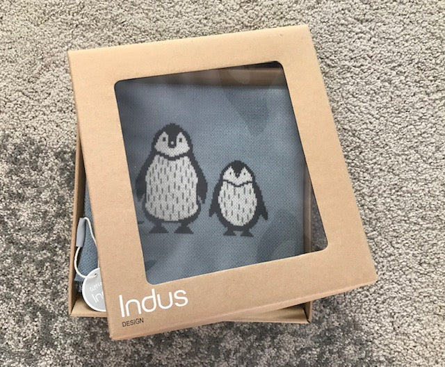 Penguin Duo Baby Blanket-Gift Boxed!