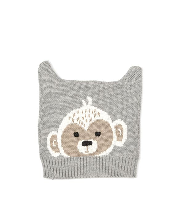 Monkey Knit Hat