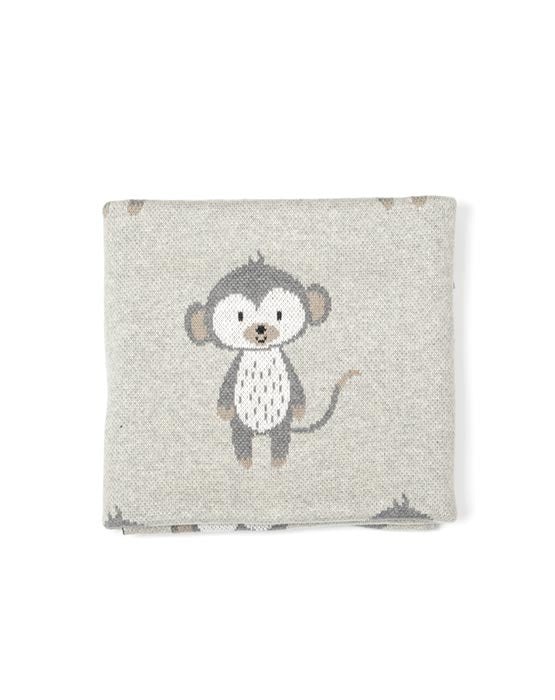 Monkey Baby Blanket-Gift Boxed!