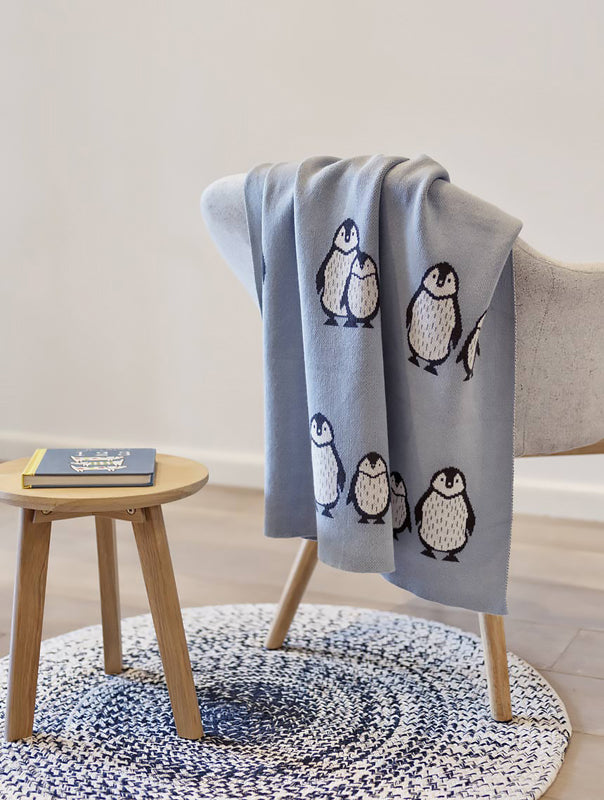 Penguin Duo Baby Blanket