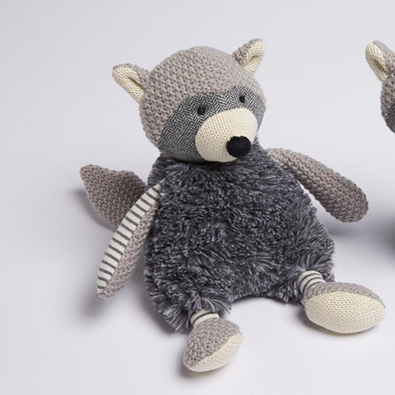 Plush Racoon Soft Toy
