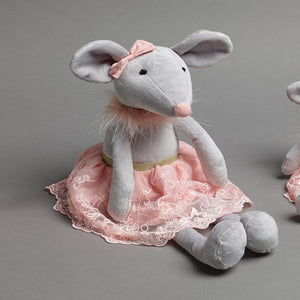 Milly Ballerina Mouse Soft Toy (Last One)