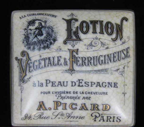 Parisian lotion Veg Trinket Box
