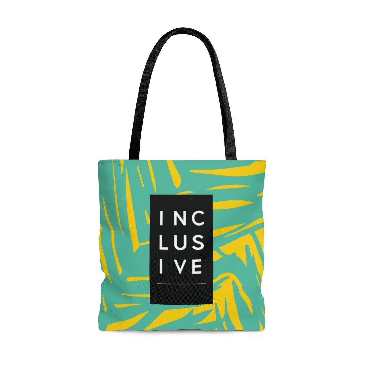 Inclusive Tote, Yellow Fern