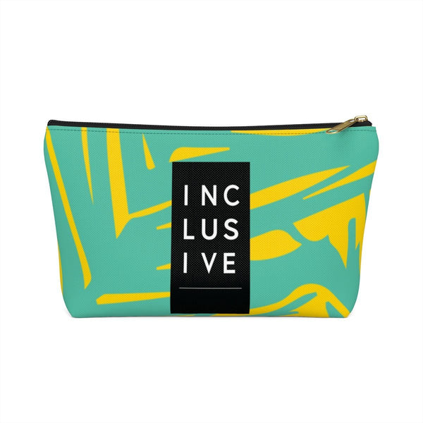 Inclusive Accessory Pouch, Yellow Fern