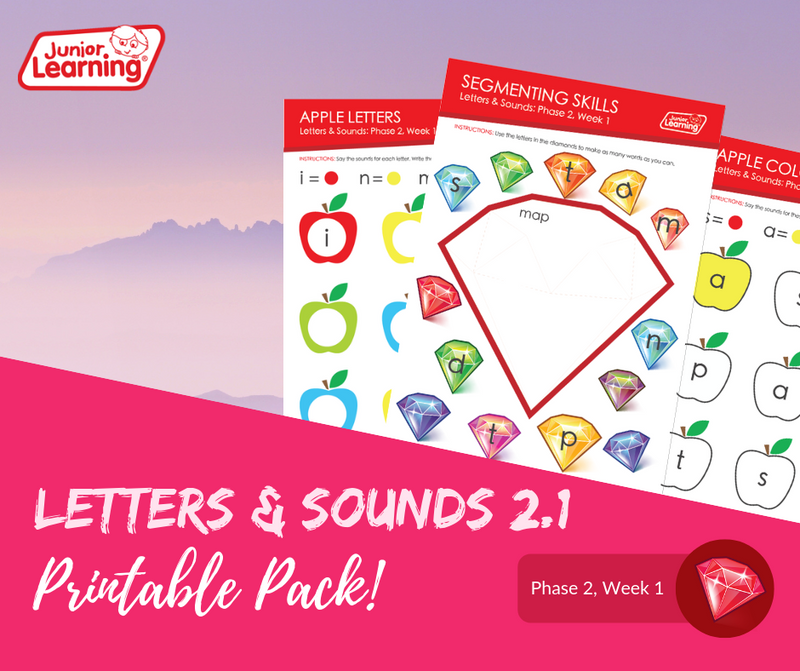 Letters & Sounds 2.1 Printables