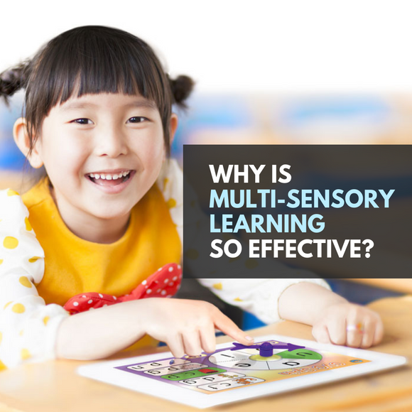 Why is multi-sensory learning so effective?