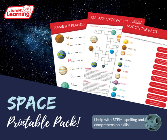 International Space Day Printables