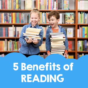 5 Benefits of Reading
