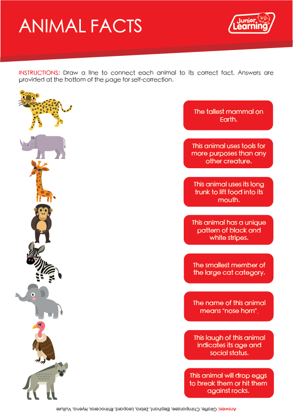 Animal Facts Preview