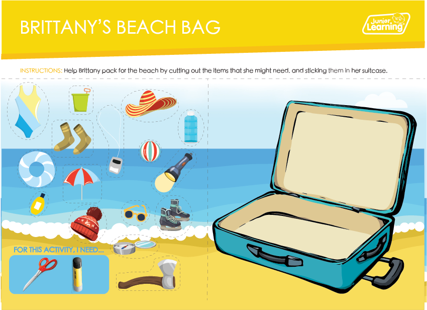 Brittany's Beach Bag Preview