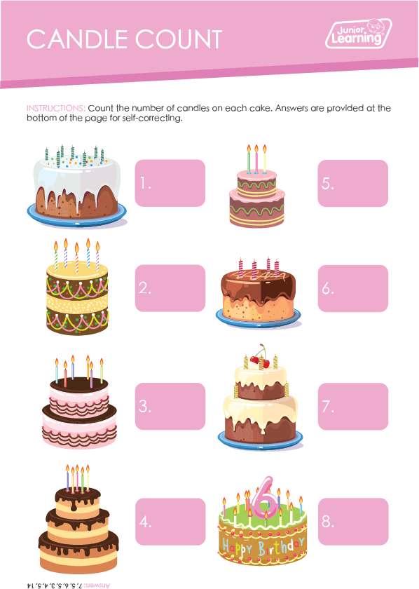 Candle Count Preview