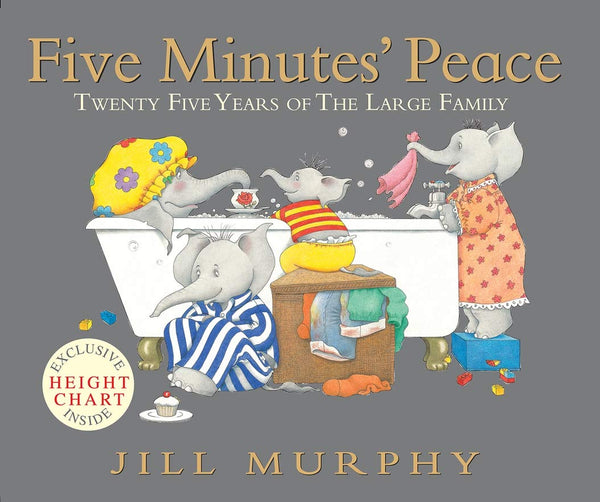 """Five Minutes' Peace"" by Jill Murphy"