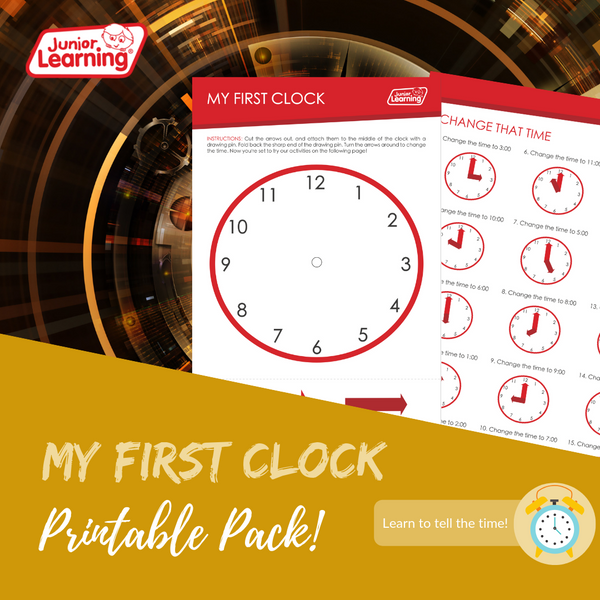 My First Clock Promo
