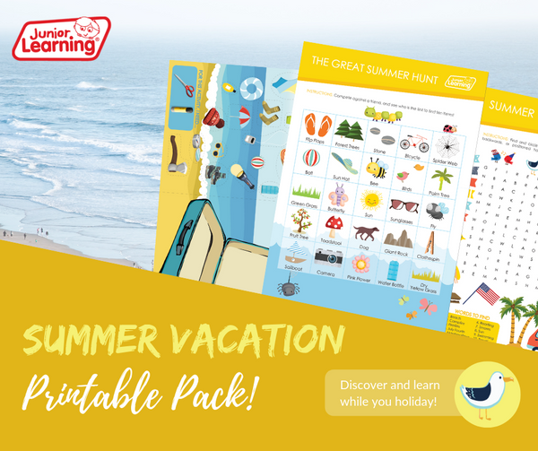 Summer Vacation Printables Promo